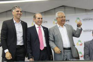 Fábio acompanha ministro da Saúde em visita a Sergipe