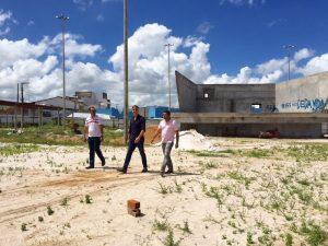 Fábio garante 2º etapa de obra em Frei Paulo
