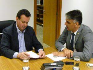 Fábio Reis pede a Kassab sistema BRT para Lagarto