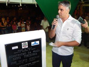 Praça Santa Terezinha é inaugurada em Lagarto