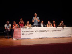 Fábio Reis coordena Seminário sobre agentes de saúde e endemias