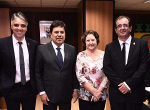 Fábio Reis convida ministro da Educação a visitar Sergipe